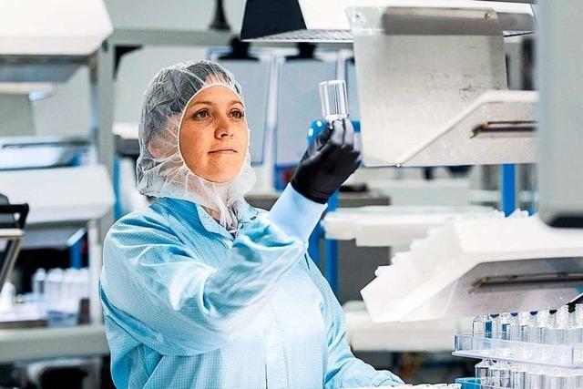 Müllheimer Unternehmen stellt Glasfläschchen für Corona-Impfstoff her