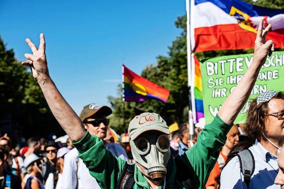 Demo in Berlin - Initiator aus Stuttgart fordert Aufhebung der Corona-Gesetze