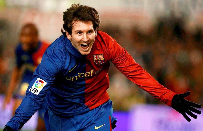 Genialer Torschütze schon in jungen Jahren: Lionel Messi im Jahr 2009    Foto: Alberto Aja (dpa)