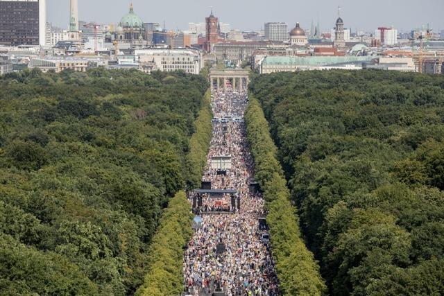 Das Verbot der Demo in Berlin ist unnötig und schädlich