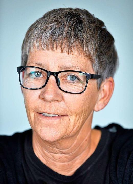 Catrin Tinn ist die seit Mai Betriebsleiterin im Freiburger Essenstreff.  | Foto: Michael Bamberger