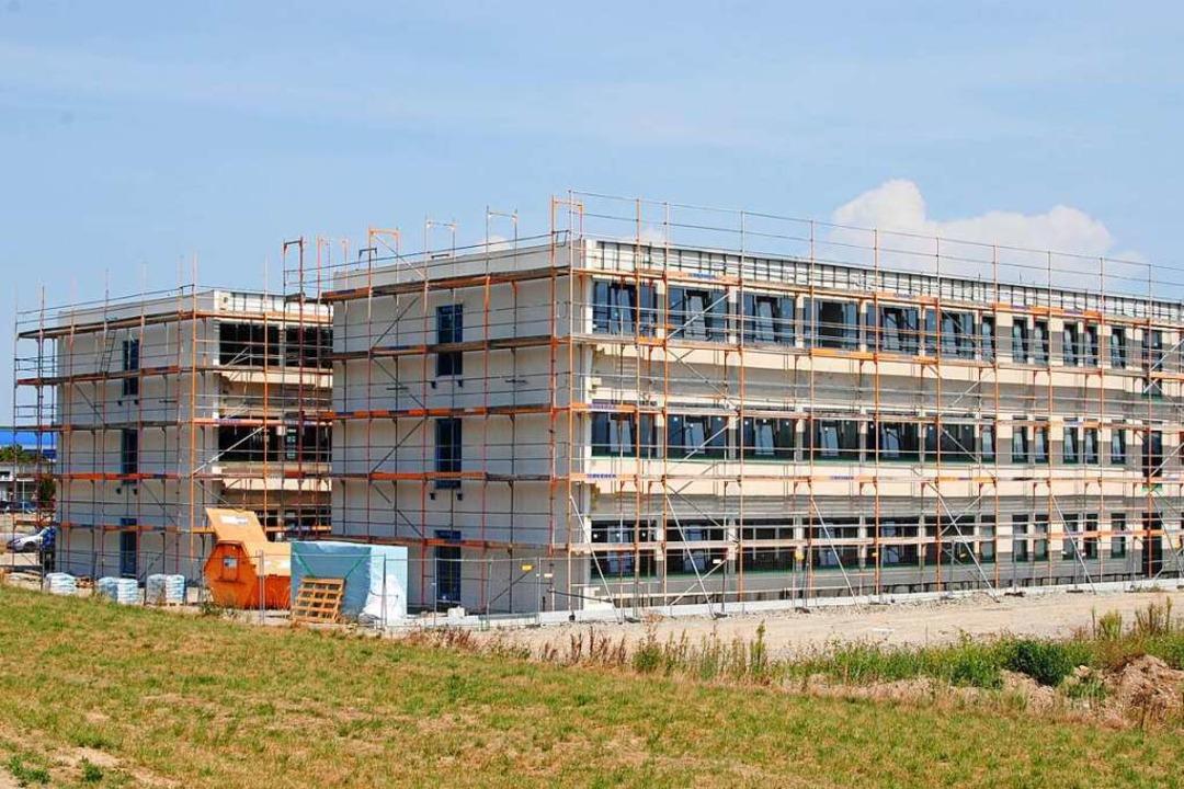 Das größte Industrieunternehmen im Lan...dort derzeit eine neue Firmenzentrale.  | Foto: Manfred Frietsch