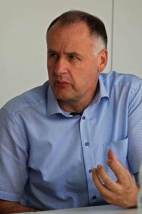Thomas Breig, Bürgermeister von Ehrenkirchen.  | Foto: Jannik Jürgens