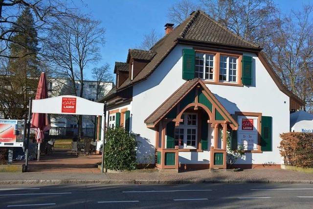 Café am Läublinpark soll im November eröffnen – mit einer Weinbar