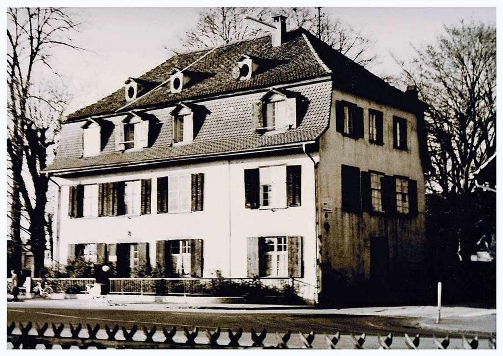 Der ursprüngliche Läublinhof  | Foto: Stadtrachiv Weil am Rhein