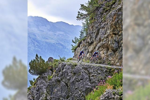 Heißer Ritt in alpinem Gelände