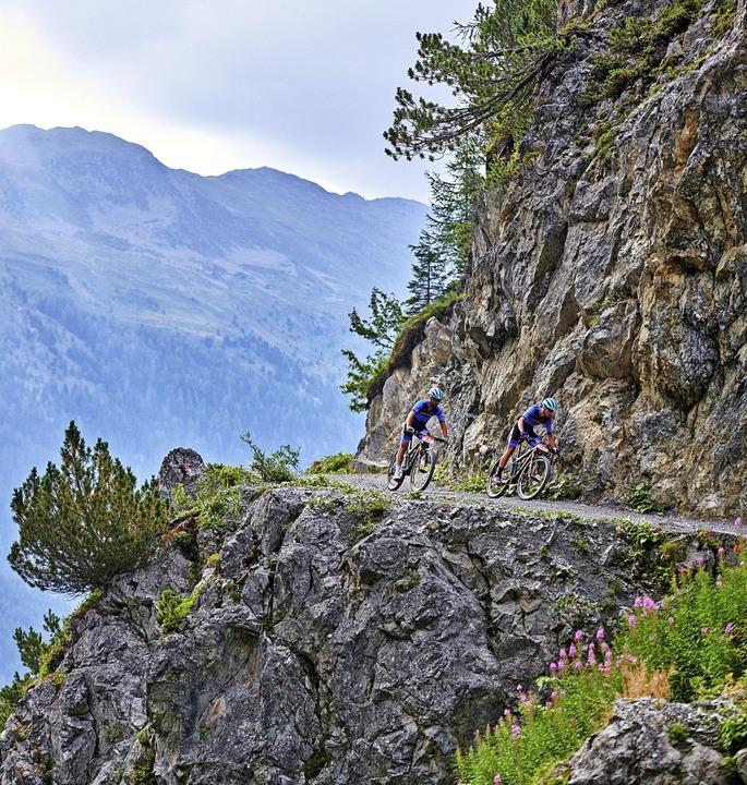 Fehlermachen verboten: Steuerkunst und...nabschnitten beim Swiss Epic gefragt.   | Foto: MARIUS_HOLLER