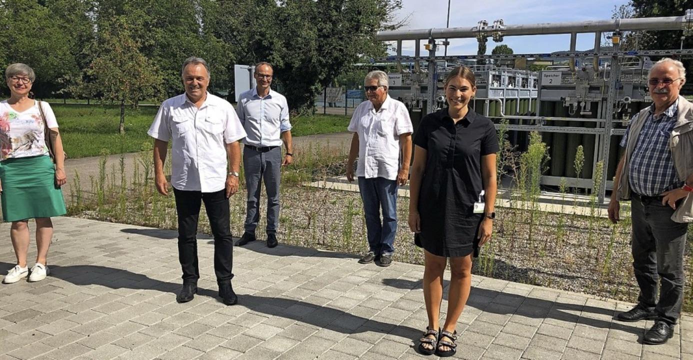 <BZ-FotoAnlauf>Power-to-Gas-Anlage:</B...ie Anlage von Energiedienst in Wyhlen.    Foto: Energiedienst Holding AG