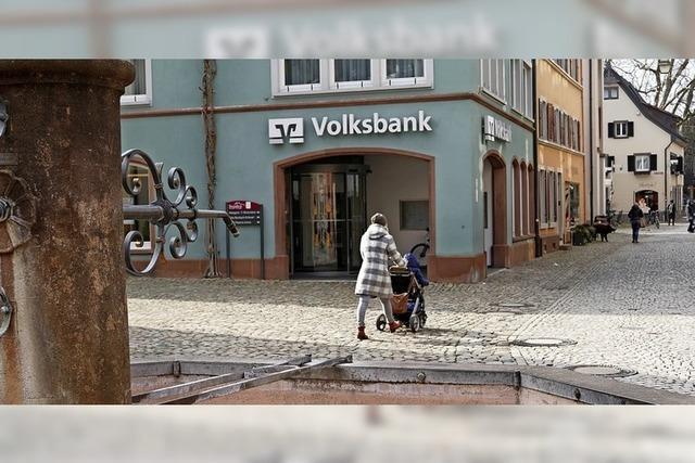 Volksbank Staufen bleibt auf Kurs