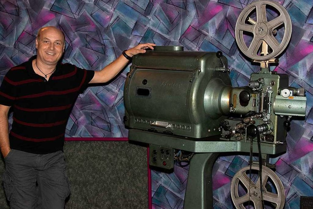 Kinobetreiber Michael Karg ist bisher ganz gut durch die Corona-Krise gekommen.  | Foto: Volker Münch