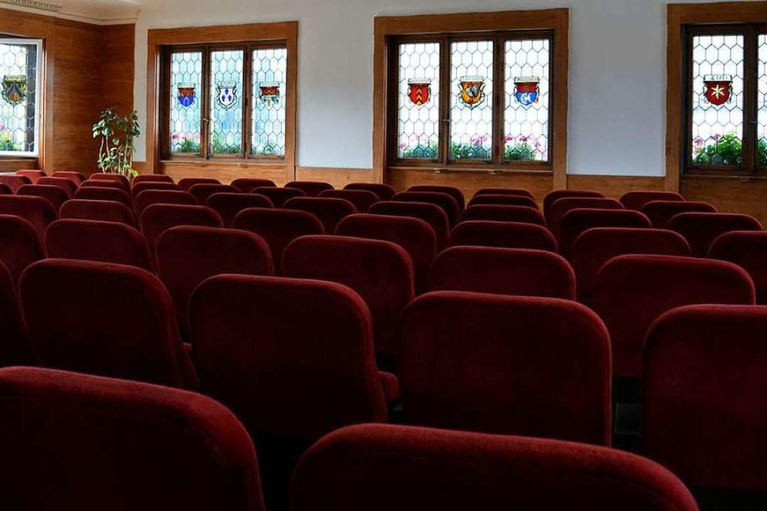 Im Bugginger Rathaus, das auch als Kin...rden derzeit noch keine Filme gezeigt.  | Foto: Sophia Hesser