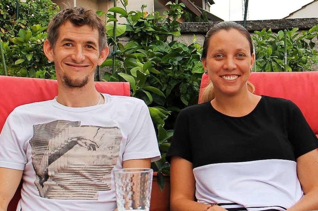 Glücklich, wieder in Endingen zu sein: Lucia Schmuck und Hanss Schmuk  | Foto: Ruth Seitz