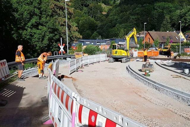 Wiedereröffnung der Elztalbahn verzögert sich bis Juni 2021