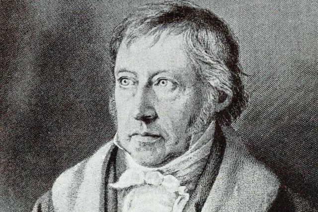 Philosoph Hegel wollte die Widersprüche der Welt versöhnen