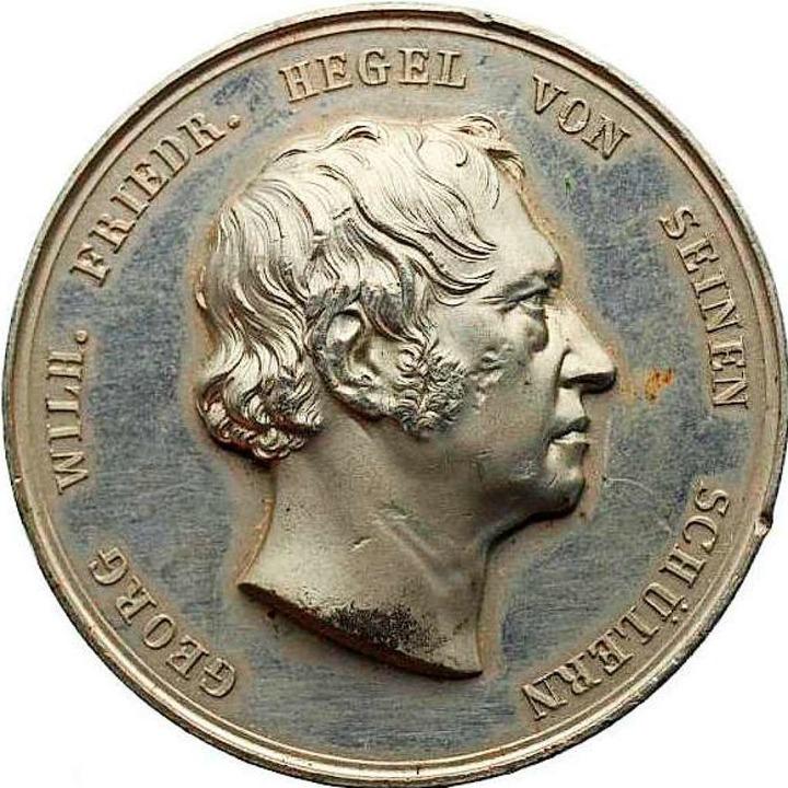 Hegel war mit seinem Porträt auf der M...r gleich mehrere Dutzend davon kaufte.    Foto: privat