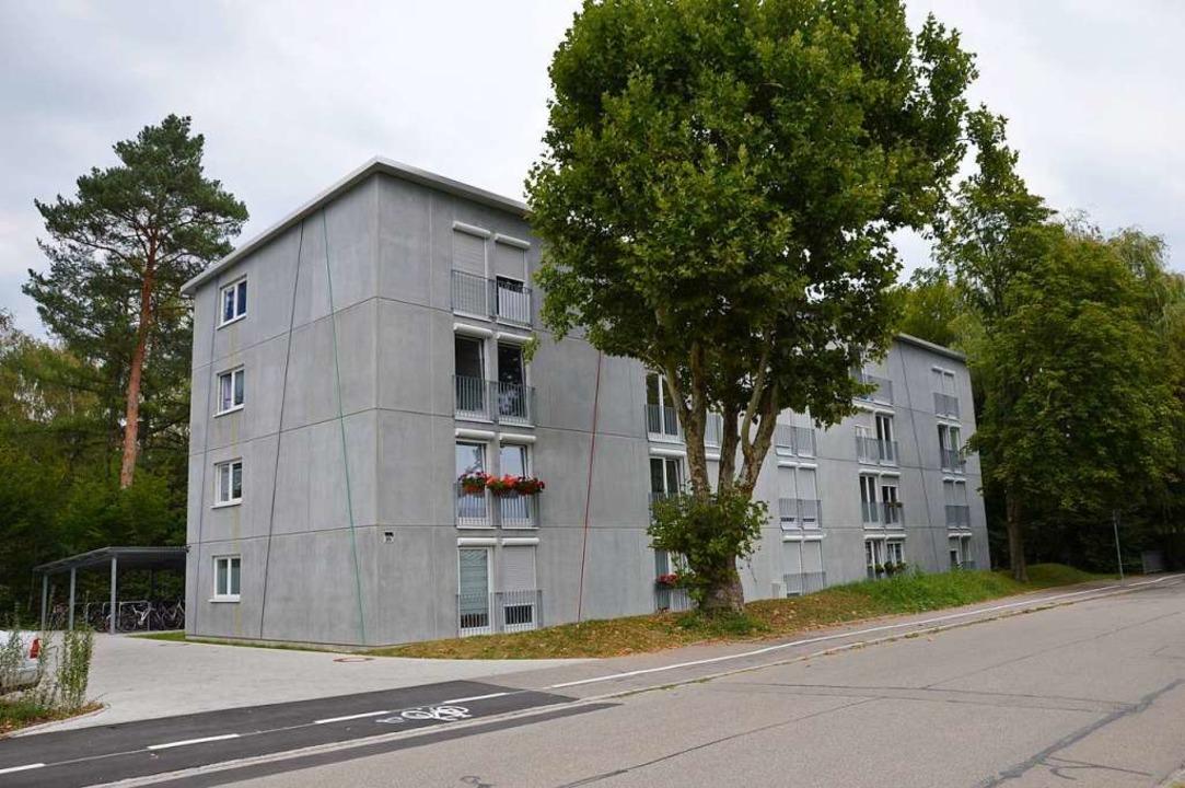 In der Werderstraße in Rheinfelden hat... auch Obdachlosen eine  Bleibe bietet.    Foto: Horatio Gollin