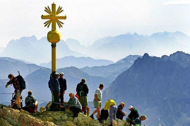 Die Zugspitze war einmal ein Abenteuer – heute ist sie ein beliebtes Ausflugsziel