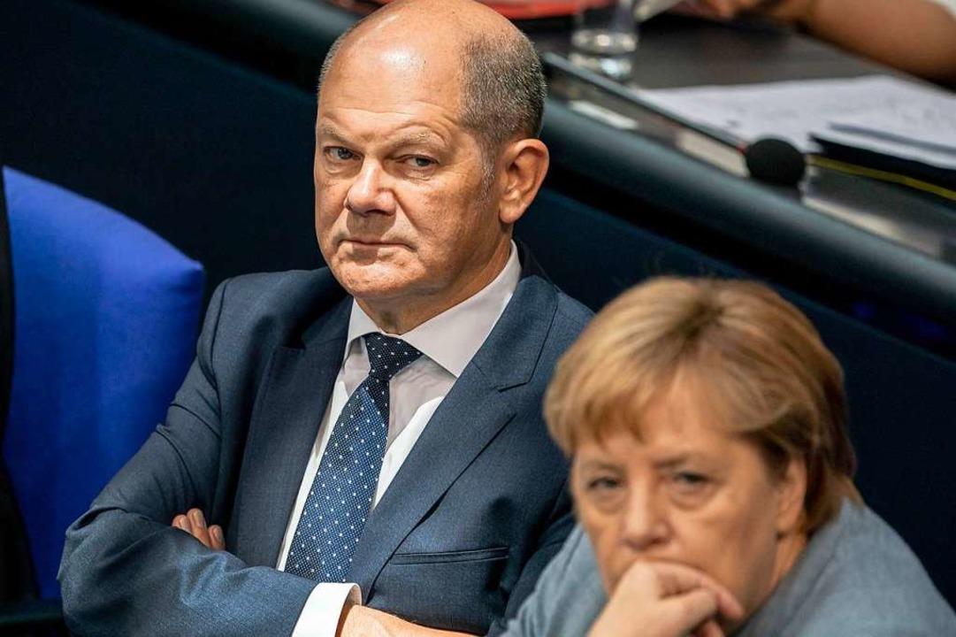 Die SPD und die Union  rund um Oberpra...ch ein ums andere Mal zusammengerauft.    Foto: Michael Kappeler (dpa)