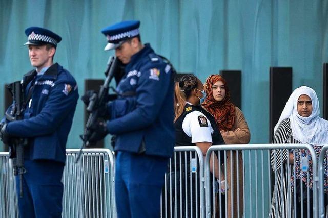 Attentäter von Christchurch muss lebenslang ins Gefängnis