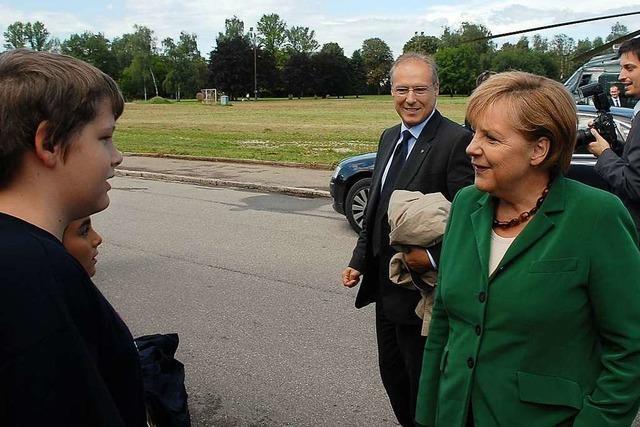 Vor 10 Jahren besuchte Angela Merkel Rheinfelden – sie erfüllte nicht alle Erwartungen