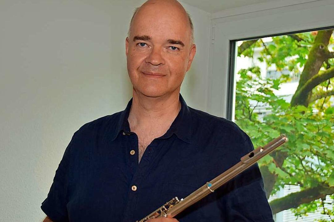 Lutz Thormann ist der neue Leiter der Musikschule im Breisgau in Gundelfingen.  | Foto: Andrea Steinhart
