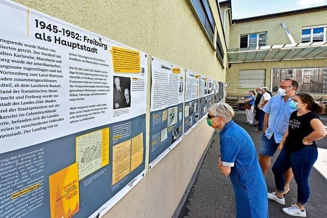 BZ-Leser entdecken Freiburgs Geschichte im Hinterhof des Staatsarchivs