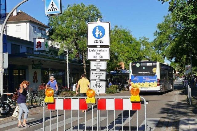 Weils Fußgängerzone wird ab Montag zur Einbahnstraße