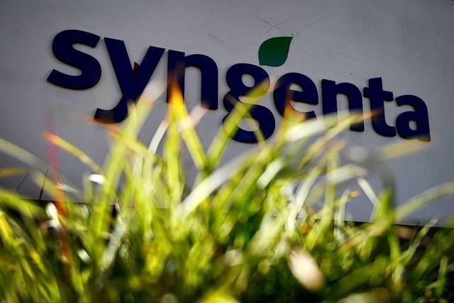 Saatgut- und Pflanzenschutzmittelhersteller Syngenta meldet ein