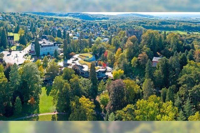 Der Kurpark Badenweiler erzählt die Geschichte des Ortes bis zur Römerzeit