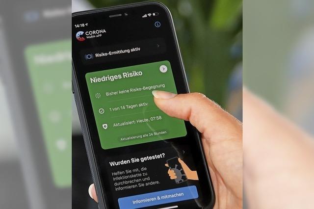 Zwei Warn-Apps, aber kein Kontakt