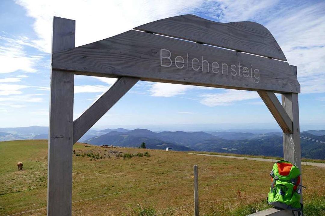 Der Belchensteig besticht mit einem to...nebene und bis zu den Schweizer Alpen.    Foto: Sarah Trinler