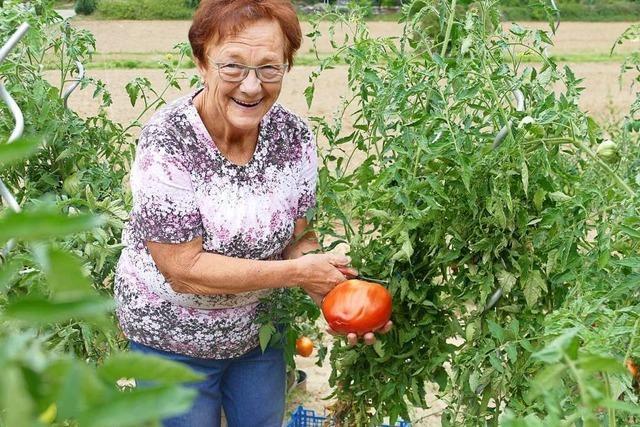 Hilde Böhnemann ist seit Anfang an bei Bauernmarkt dabei