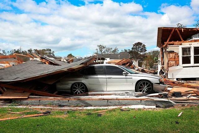 Mindestens sechs Tote in den USA nach Hurrikan
