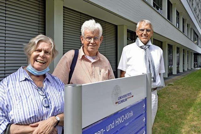 Freunde der Uni-Augenklinik sammeln Geld für Operationen