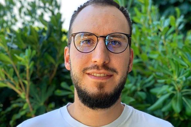 Sebastian Hatzenbühler ist ein Veganer, der über Veganer-Witze lacht