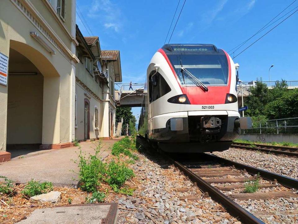 Die S-Bahn soll im Kern des Ballungsraumes im 15-Minuten-Takt fahren  | Foto: Peter Gerigk