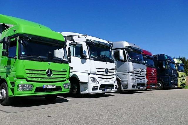 Daimler testet Systeme zur Lkw-Abgasnachbehandlung am Feldberg