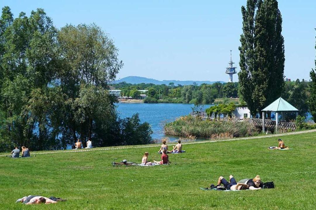Die Polizei Freiburg hat neue Erkenntn...r Seepark veröffentlicht (Archivbild).  | Foto: Fabian Vögtle