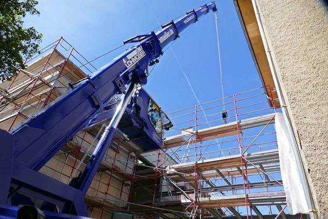 Alt- und Neubau der Friedrich-Ebert-Schule sind nun verbunden