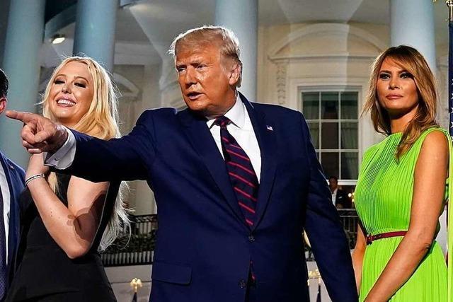 Trumps große Show hat wenig mit Politik zu tun