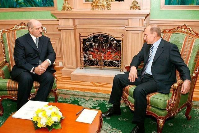 Lukaschenko hat seinen Rückhalt im Volk verloren