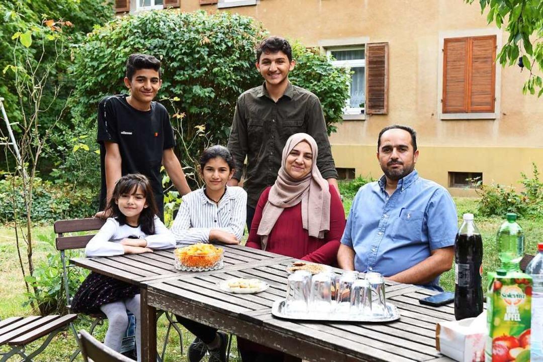 Familie Alhelou  | Foto: Rita Eggstein