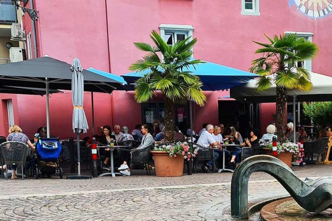 Noch können Gastronomen Umsatzeinbußen...n für den öffentlichen Raum auslaufen?  | Foto: Stefan Ammann