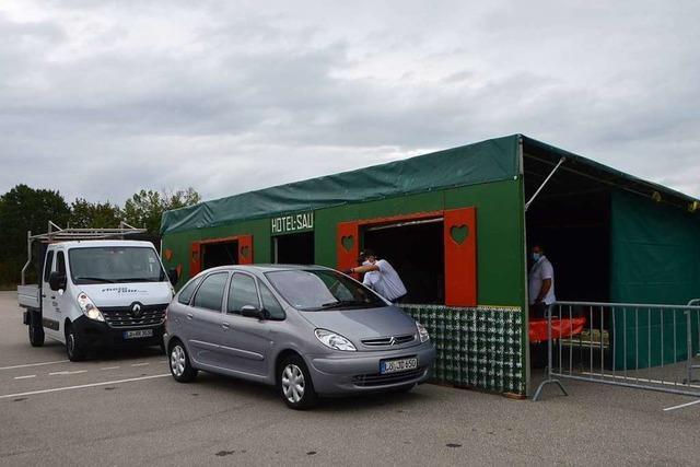 Kesselfleisch-Drive-In der Latschari Rheinfelden verkauft 400 Portionen