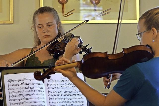 Vier junge Musikerinnen trotzen Corona