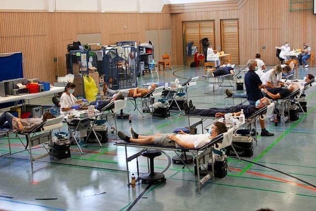 Die Mahlberger sind treue Blutspender