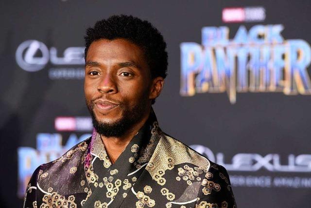 Hollywood trauert um den Schauspieler Chadwick Boseman