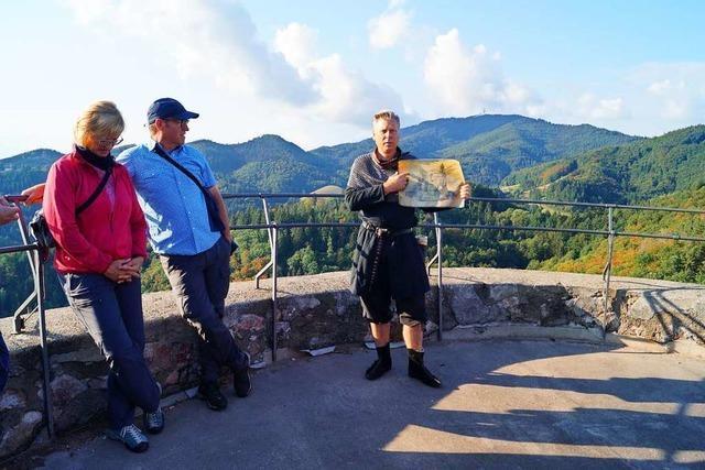 Mit dem Markgrafen der Sausenburg in die Vergangenheit reisen