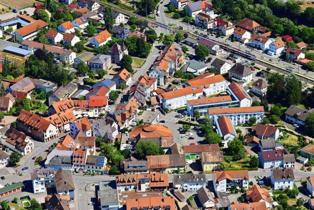 Der Blick des Architekten: Im Rahmen e...bleme des Ortes in den Griff bekommen.  | Foto: Erich Meyer