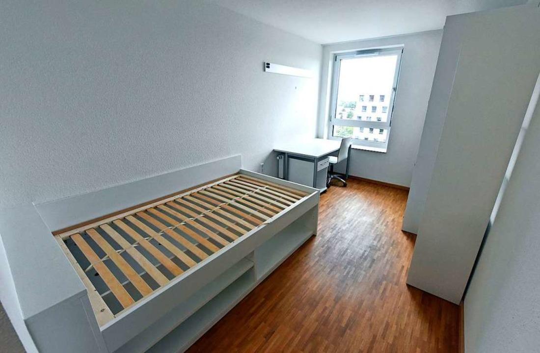 Die 130 neuen Zimmer warten darauf, bezogen zu werden.  | Foto: Michael Bamberger
